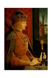 Emperor Maximilian I (1459-151), with Crown, Sceptre, and Sword, C. 1500 Giclee Print by Bernhard Strigel