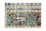 The Lion Frieze from King Darius' Winter Palace at Susa, Iran, 1933-1934 Giclee Print