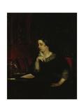 Portrait of the Poetess Yevdokia Petrovna Rostopchina (1811-185), 1850 Giclee Print by Pavel Andreyevich Fedotov