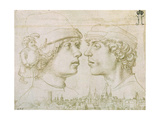 Portrait of the Artist's Son, 1514 Giclee Print by Hans Holbein the Elder