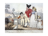 The Origin of Cockney,' London, C1800 Giclee Print by Isaac Cruikshank