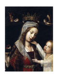 Virgin and Child, Between 1465 and 1529 Giclee Print by Jan Provost