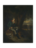 Portrait of Count Nikita Petrovich Panin (1770-183) in Hunting Dress Giclee Print by Ludwig Guttenbrunn