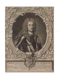 Portrait of Prince Boris Ivanovich Kurakin (1676-172), after 1717 Giclee Print by Pieter Stevens van Gunst