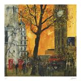 Morning Rush, London Samletrykk av Susan Brown