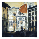 The Basilica di Santa Maria del Fiore, Florence Samletrykk av Susan Brown