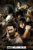 The Walking Dead Collage Kunstdrucke