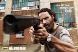 The Walking Dead Rick Gun Poster