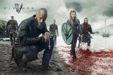 Vikings Blood Landscape Kunstdruck