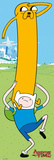 Adventure Time: Finn & Jake Plakater