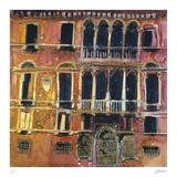 Ancient Facade, Venice Samletrykk av Susan Brown
