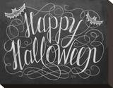 Happy Halloween Stretched Canvas Print
