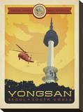Yongsan Stretched Canvas Print