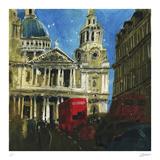 Today and Yesterday St. Paul's, London Samletrykk av Susan Brown