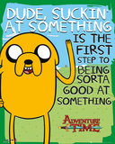 Adventure Time Suckin Plakater