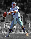 Troy Aikman Spotlight Action Photo