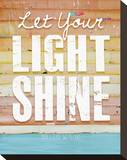 Let Your Light Shine Stretched Canvas Print by Danny Phillips
