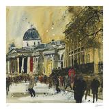 Approaching Trafalgar Square, London Samletrykk av Susan Brown