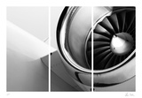 Jet Engine Collectable Print by Chris Dunker
