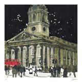 James Gibbs Masterpiece, St Martin in the Fields, London Samletrykk av Susan Brown