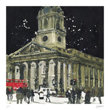 James Gibbs Masterpiece, St Martin in the Fields, London Collectable Print by Susan Brown