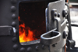 Fueling Steam Engines Photographic Print by Amanda Barrett