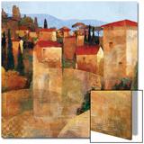 Tuscan Hillside Prints by Keith Mallett