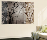 Silver Whispers II Wall Mural by Edward Aparicio