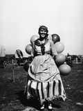 Balloon Seller Photographic Print
