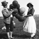 Ballon Sellers Photographic Print