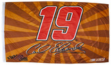 Carl Edwards One-Sided Flag with Number Flag