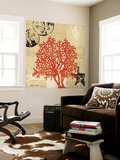 Coral Impressions IV Wall Mural by Tandi Venter