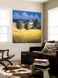 Sun Kissed Orchard II Wall Mural by David Short