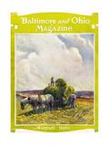 August, 1922 Giclee Print by Herbert Stitt