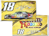 Kyle Busch Deluxe 2-Sided Flag Flag