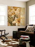 Champagne Daffodils I Wall Mural by Linda Thompson