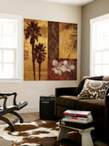 Sunset Beach I Wall Mural by Keith Mallett