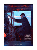 The Engineer Giclee Print by Charles H. Dickson