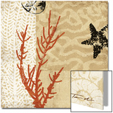 Coral Impressions I Print by Tandi Venter