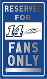 Tony Stewart Sign Tin Sign