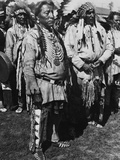 Chief Two Guns White Calf Photographic Print
