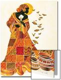 Flug der Seele Poster von Keith Mallett