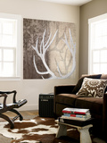 Deer Lodge I Wall Mural by Tandi Venter