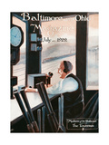 The Towerman Giclee Print by Charles H. Dickson
