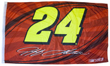 Jeff Gordon One-Sided Flag with Number Flag