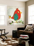 Chirpier Wall Mural by Tandi Venter