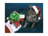 Merry Christmas Chessie Giclee Print