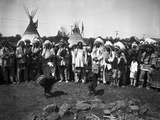The Blackfeet Indains Photographic Print