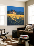 Golden Warmth II Wall Mural by David Short