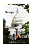 Washington Giclee Print by Bern Hill